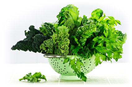 Fresh Green Leafy Veggies