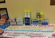 Moms Club open house