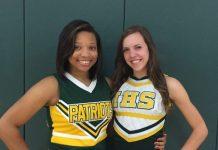 left Janasia McNeil, right Paige Strickland