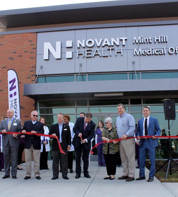 Novant Health Opens Its New Mint Hill Location The Mint Hill Times