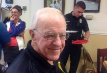 Chaplain Albert Leath