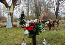 The holidays can be a hard time when a person has lost a loved one. Expressing those feelings can range from journaling about them to placing holiday adornments at the graveside to show that the loved one is not forgotten.