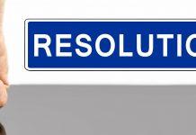 keeping resolutions