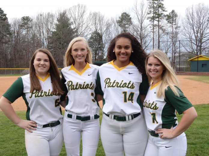 Left to Right - Sarah Smith, Huntleigh Williams, Olivia Pauldin, Lean Renn