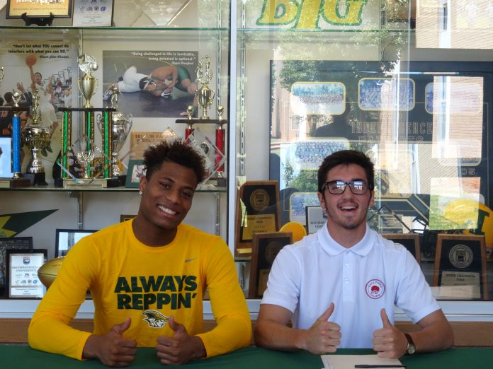 de019bb078c Two more of Independence basketball Coach Preston Davis players have  recently signed their letters of commitment to North Carolina colleges.