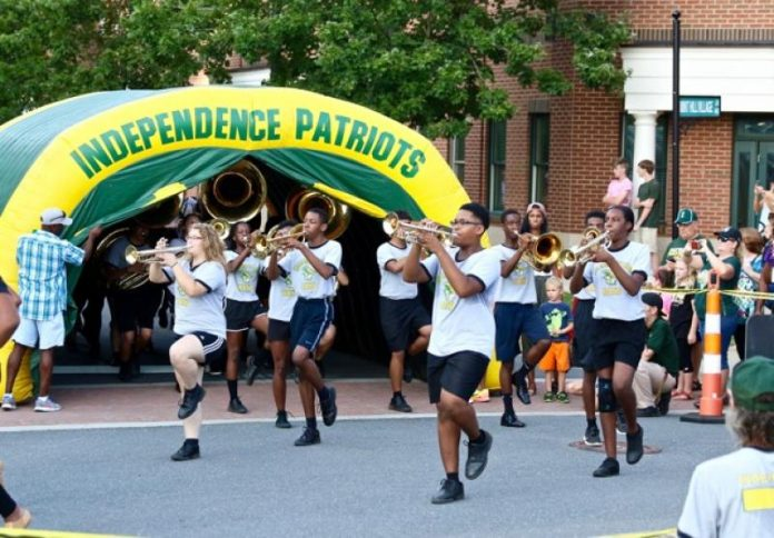 independence high school back to school pep rally