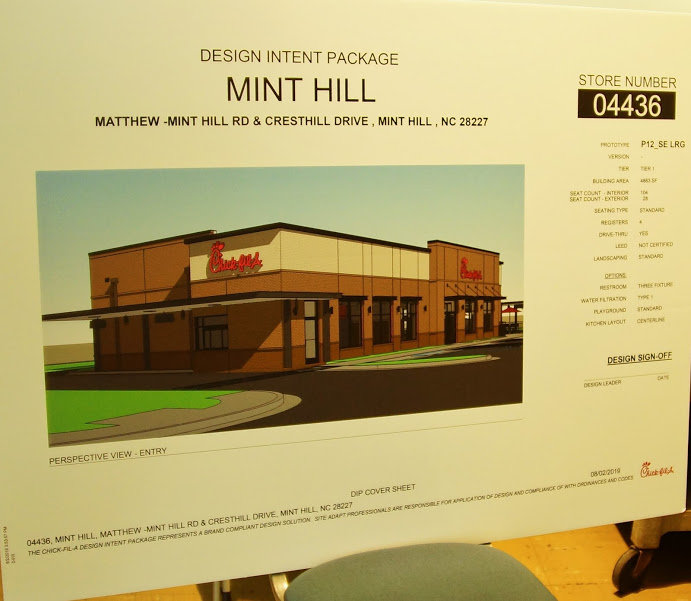 Chick fil A holds meeting on new store location proposal in